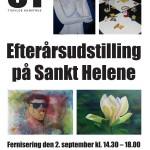 Plakat udført afHanne Aagaard Jensen