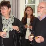 Ulla Dræbye, formand for Gribskov Kommunes Kulturudvalg, Christina Bardram, formand for 51 Tisvilde Kunsthus og Christian Friis, formand for Vejby-Tibirke Selskabet.