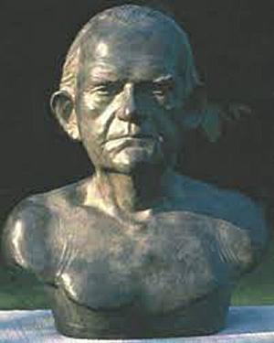 Skulptur af Jeanette Brønsted
