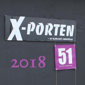 X-Porten udstilling